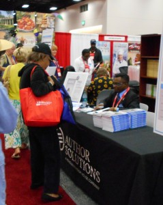 Book Signing at AARP Convention in San Diego